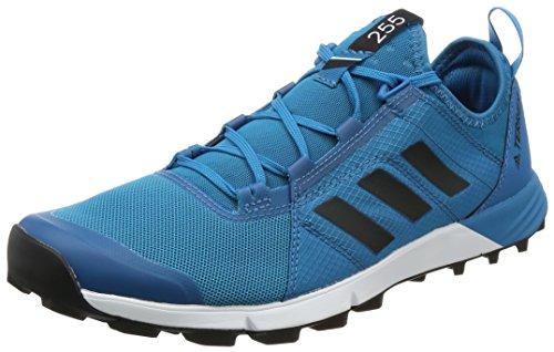 adidas Terrex Agravic Speed, Zapatillas de Senderismo Para Hombre, Varios Colores (Petmis/Negbas/Ftwbla), 42 EU