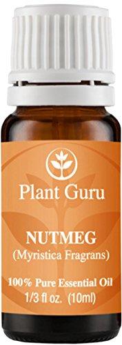 Nutmeg Essential Oil. 10 ml. 100% Pure, Undiluted, Therapeutic Grade.
