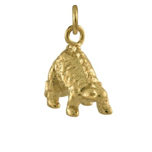 Sayers London Or 9 Carats Pendentif Stegosaurus