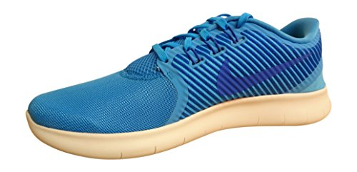 Nike Free RN CMTR Mens Running Trainers 831510 Sneakers Shoes (US 10, Azul (Blue Glow / Hyper Cobalt-Wolf Grey) 400)