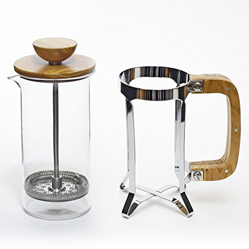 Hario CPSW-2-OV Olivewood Cafépress Coffee and Tea Press, 300ml by Hario (Image #4)
