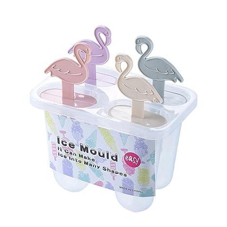 Compra BAICHUANG Molde de polo de helado, molde de helado, dibujos ...