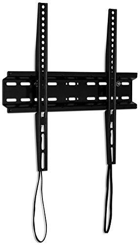 Mount-It! Slim TV Wall Mount Fixed TV Bracket for flat screens 32 inch - 55 inch LED, LCD, and Plasma television - 77 lbs capacity, 1.1