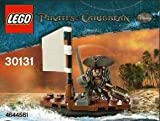 Lego Pirates Of The Caribbean 30131 Jack Sparrow Minifigure With Raft