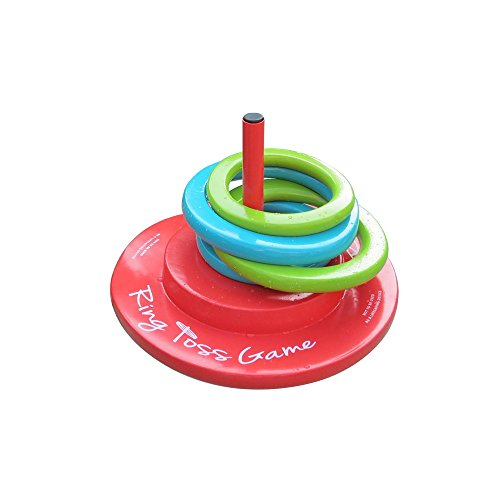 Texas Recreation Floating Foam Ring Toss Game for Swimming Pools (Best Swimming In Texas)