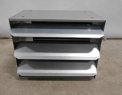 50,000 BTU Hydronic Hot Water Hanging Unit Heater - Single Speed Fan