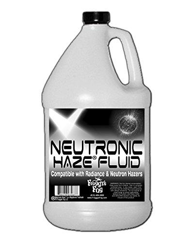 Froggys Neutronic Haze Fluid - Specially Formulated Haze Liquid - 1 Gallon / 3.785 Liters (Haze Machine)