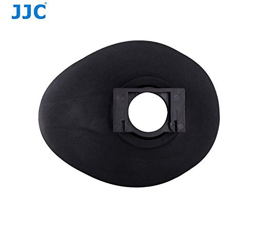 JJC Eyecup Eyepiece Viewfinder For Canon EOS 6D 60Da 70D 80D 100D 550D 600D 650D 700D 750D 760D 8000D 1100D 1200D 1300D Rebel T2i T3i T3 T4i T5i T5 T6i T6s T6 Camera As Eb Ef