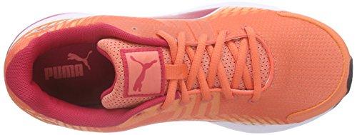 03 Sequence fluo course Puma Orange Orange red femme de peach V2 Wn rose Chaussures white TfnfZaq