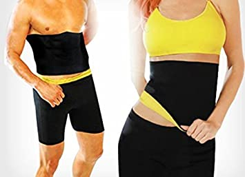 d78a8f5fad Image Unavailable. Image not available for. Colour  Choomantar Shop Unisex  Hot Shaper Slimming Belt ...
