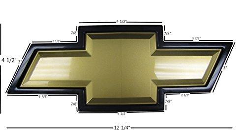 """OEM 2011-2013 Chevrolet Silverado HD Large Bowtie Large Grille Emblem - 12.25"""" x 4.5"""""""