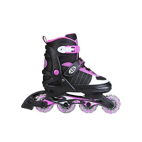 Aerowheels Girls Inline Skates - Sizes 1-4 (child 1-4)