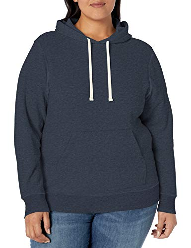 Amazon Essentials Damen fashion-hoodies Plus Size French Terry Fleece Pullover Hoodie