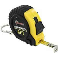 6ft Tape Measure Keychain by Diamond Visions