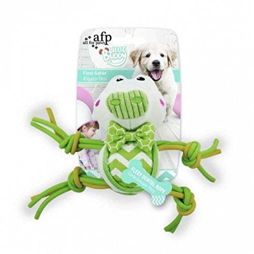 Little Buddy Flexi Plush Dog Toy (GATOR)