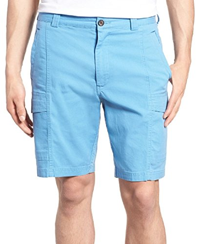 - Tommy Bahama Key Isles Cargo Golf Bermuda Shorts (Color: Cabana Blue, Size 42)
