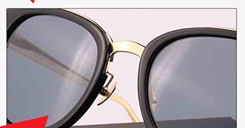Redondas Hombres Sol Conducción Vintage Gafas Para Sin De UV gris Gafas Reflejos Retro Polarizadas Sol Bloqueo Para Mujeres De De Lentes xx1qzv