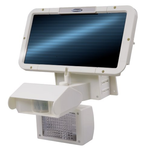 Concept SL-100 32-LED Solar-Powered Security Light