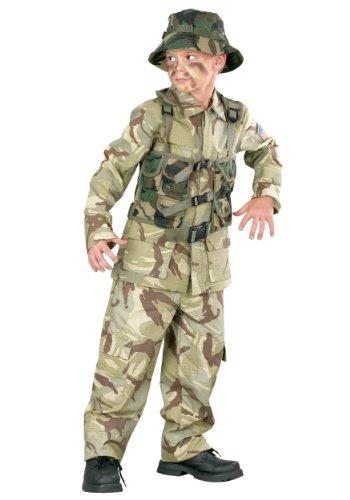 Big Boys Delta Force Army Costume Medium