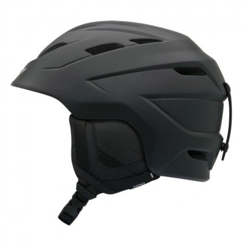 Giro Nine.10 Snow Helmet (Matte Black, Small), Outdoor Stuffs