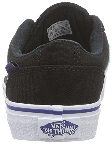 Vans Chapman Stripe, Zapatillas Niños Negro (varsity/black/blue)