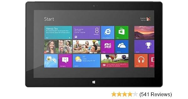 Microsoft Surface Pro Tablet 128 GB Hard Drive, 4 GB RAM, Windows 8 Pro - English