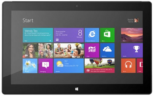 Microsoft Surface Pro Tablet 128 GB Hard Drive, 4 GB RAM, Windows 8 Pro - English (Microsoft Surface 10-6 64gb Windows Rt Tablet Review)