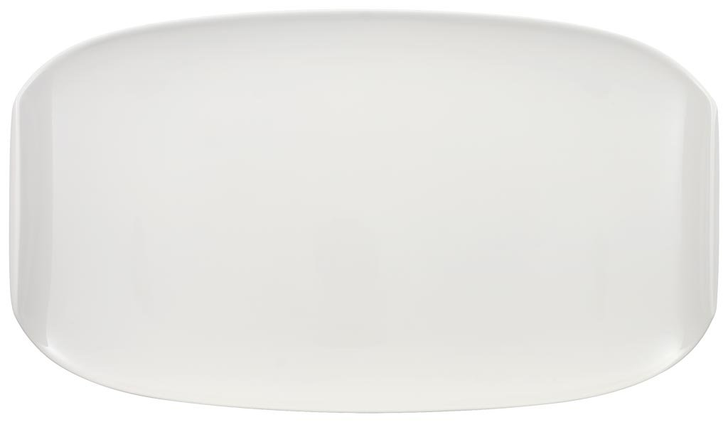 Urban Nature Serving Dish by Villeroy & Boch - Premium Porcelain - Made in Germany - Dishwasher and Microwave Safe - 16.5 x 19.5 Inches