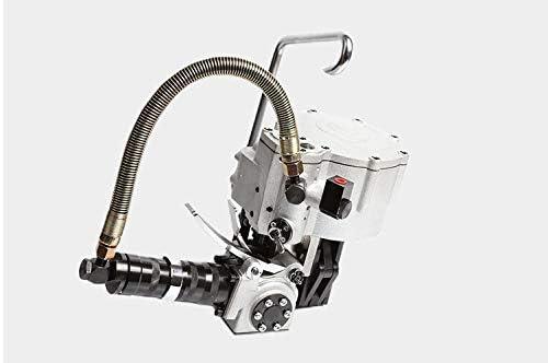 梱包機,ポータブル 省力 簡単操作 一体型金属製結束機空気圧式鋼製結束機ロック機鋼製結束機 業務用 (Size : A)