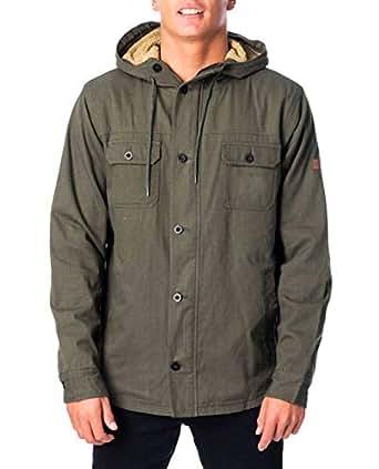 Rip Curl Men's GIBBOS Jacket, Green, M