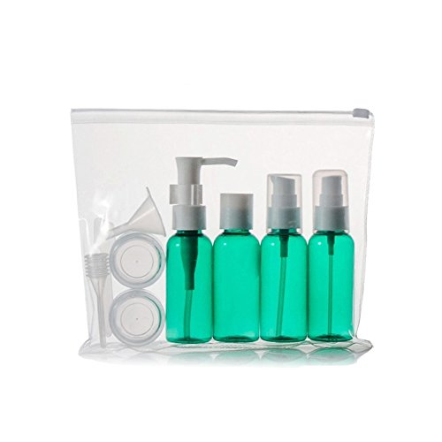 Huluwa-Travel-Bottles-Set-for-Makeup-Cosmetic-Toiletries-Liquid-Containers-Leak-Proof-Portable-Spray-Bottle-with-Travel-Pouch-BPA-free-Set-of-4