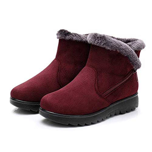 (Cute Cat Warm Boots Women Family Christmas Cotton Winter Shoes Women Boot )