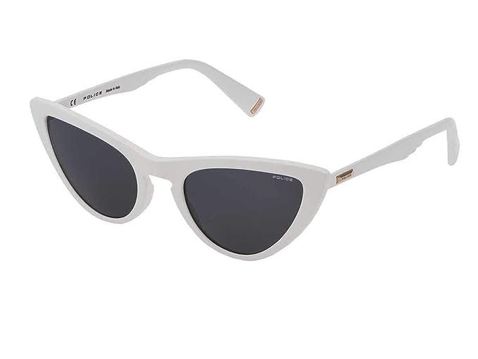 Police - Gafas de sol - para mujer Blanco Bianco 50: Amazon ...