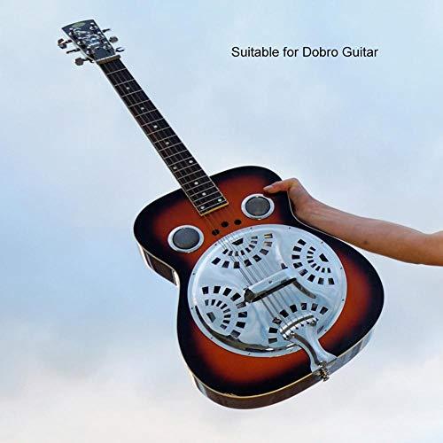 Kit de Guitarra Resonadora,Puente de Aleación de Zinc Plateado ...