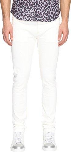 Marc Jacobs Mens Skinny Leg White on White Jeans White 46 (US 30) 33 33 Marc Jacobs Men Pants
