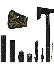 كوسي دي التخييم آس سورفايفال توماهوك المحمولة متعددة الأدوات قابلة للطي مع غلاف لحقل المشي لمسافات طويلة والصيد