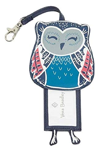 Vera Bradley Iconic Whimsy Luggage Tag in Night Sky