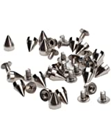 100Stk. Kegel Spikes Screwback Spikes für DIY Craft Lederhandwerk