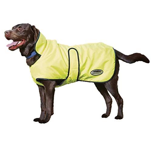 - Weatherbeeta Windbreaker 420D Deluxe Dog Coat Yellow/Black 16