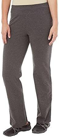 Gloria Vanderbilt Sport Ines Pants Small Charcoal heather grey