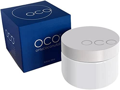Organic Coconut Oil for Skin and Face - OCO onlycoconutoil - the Pure, Unrefined, Raw, Naturally Pharmaceutical Grade Personal Moisturizer for Women, Men, Couples