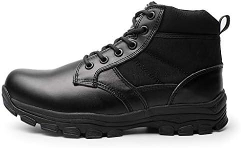 Männer Ultra Military Tactical Stiefel Schwarz Anti-Skid Outdoor Sport Camping Wandern Arbeitskampf Schuhe