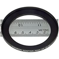 Cavision 58 to 72mm Step-Up Ring for Clamp-On Matte Box on Lens, 10mm Depth