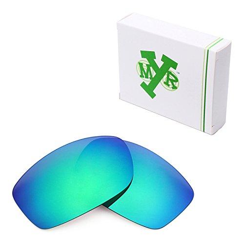 MRY POLARIZED Replacement Lenses for Costa Del Mar Zane Sunglasses - Options (Standard, Emerald Green)