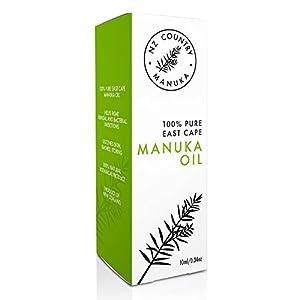 NZ Country 100% Manuka Oil 10X Potency of Tea Tree Oil 10ml