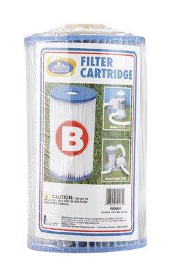 Intex Pool Easy-Set Type B Replacement Filter Cartridge (6 Pack)