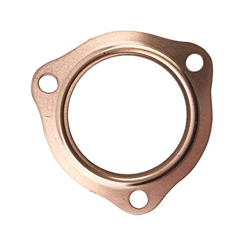 Per Newly Exhaust Gaskets 2 1/2'' Copper Header Exhaust Collector Gaskets Reusable SBC BBC 302 350 454 by Per Newly (Image #2)