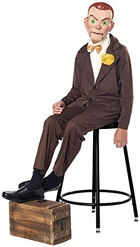 Child Evil Dummy Goosebumps Slappy Costume size