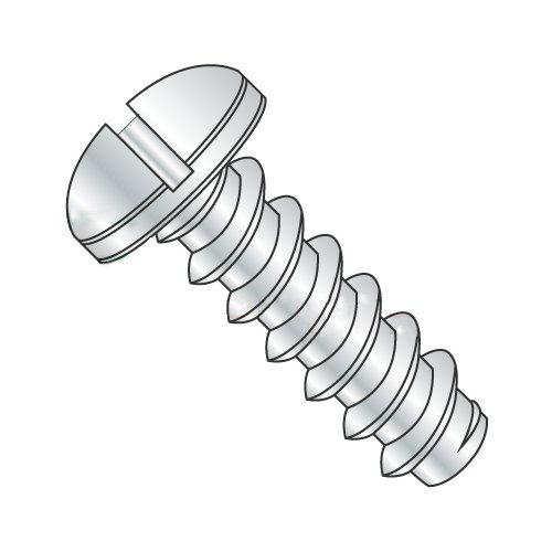 "#12 x 1/2"" Type B Self-Tapping Screws/Slotted/Pan Head/Steel/Zinc (Carton: 5,000 pcs) 41XbtM8eDrL"