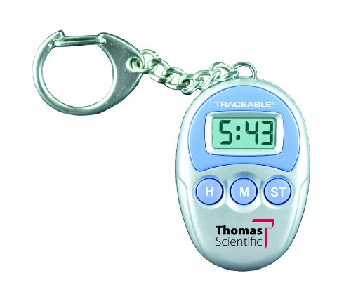 - Thomas 5041 Traceable Key-Chain Timer, 1.5